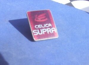 1982 Toyota Celica Supra Window Piller Sail Panel Emblem Oem Nice