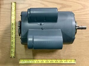 Westinghouse 1 1 2hp Single Shaft Electric Motor 1725 Rpm 115v 1 Phase K56 Frame