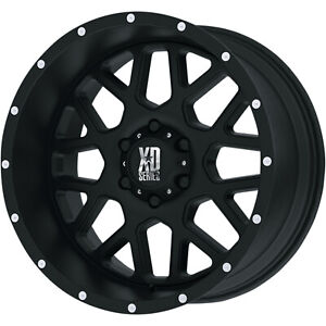 20x10 Black Xd Xd820 5x5 24 Wheels Toyo Open Country A T Ii 285 60 20 Tires