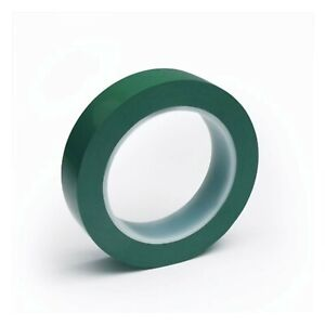 Cleanroom Tape Dark Green 1 2 X 36 Yds Synthetic Rubber Adhesive