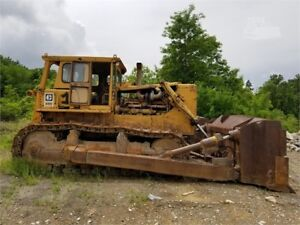 1970 Caterpillar D9g Crawler Dozer Big Farm Clean Up Machine Exporters Welcome