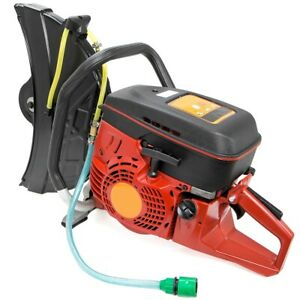 14 94cc Handheld Gas Cut Off Saw Concrete Bricks 2 stroke Engine No Blade