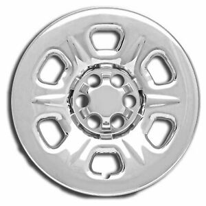 4 Chrome 15 Wheel Skins Hub Caps Covers Simulators For 05 2019 Nissan Frontier