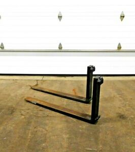 Mo 2732 Forklift 42 Forks Class Ii 4 Wide 1 3 4 Thick Ts 1500 X 500