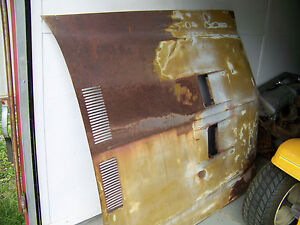 70 71 72 Buick Skylark Gs Hood 1970 1971 1072 Used Local Lid Cover Rough