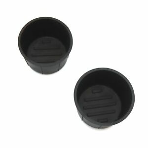 2 Fits Infiniti Qx80 2011 2019 Center Console Cup Holder Rubber Insert Liners