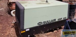 2012 Sullair 185 Cfm Skid Mounted Air Compressor stock 2540
