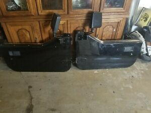 Jeep Wrangler Yj 87 95 Black Half Door Pair Oem Skin And Frame