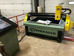 10115 New Piranha C series Plasma Cutting Table