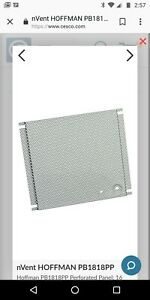 Hoffman Pb1818pp 18 X 18 Pull Box Perforated Panel New In Box