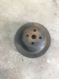 1971 Ford 302 351 400 Fairlane Mustang Fan Water Pump Pulley D1ae 8509 Aa