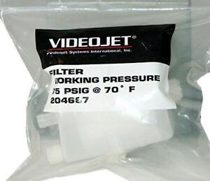 New Videojet Vacuum Filter 204667 Free Shipping