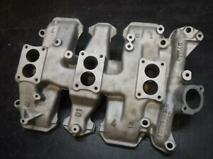 Factory 57 58 Oldsmobile J2 371 Tri Power Intake Manifold 571145 Olds Super 88