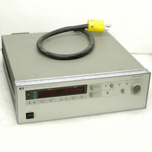 Hp 6031a System Dc Autoranging Power Supply 1064w 0 20 Volt 0 120 Amp W Hp ib