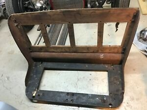 1930 Ford Model A Coupe Seat Original Rat Rod Shipping Availible