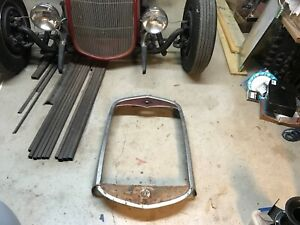 1931 Ford Model A Stainless Grille Shell Coupe Roadster Sedan Pickup Rat Rod
