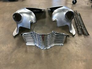 1941 Buick Series 40 Front Clip Fenders Grill Lower Valance