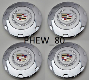 K650 Gm Cadillac Escalade 22 Inch Wheel Center Hub Caps 9597355 2007 2014 Set 4