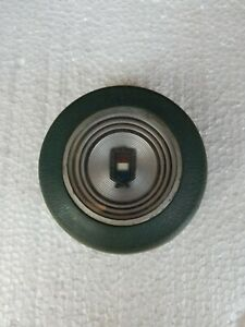 78 81 Ford Fairmont Granada Blue Steering Wheel Horn Button Great Condition
