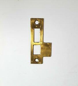 Door Brass Latch Lock Keeper Part