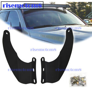 Roof 52 Curved Light Bar Mount Bracket For Dodge Ram 1500 2500 3500 2002 2009