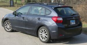Fits 2012 2016 Subaru Impreza 5 Dr Side Roof Rails Rack Black Powder Coated Ssd