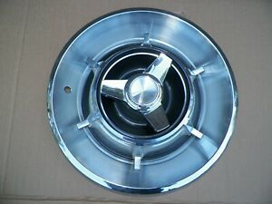 1966 1967 Dodge Charger Spinner Hubcaps 14 Inch Set