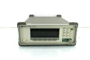Agilent Hp 86120c Opt 022 Optical Wavelength Meter Pc Calibrated