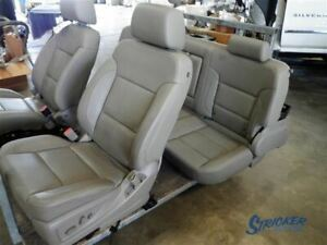 Seats Bucket And Bench Fits 14 18 Sierra 1500 Front Rear Leather Set 1055161