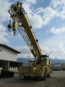 1996 Grove Rt855b 60 Ton Rough Terrain Crane stock 2543