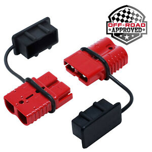Battery Quick Connect Disconnect Electrical Plug Kit 2 4 Gauge Winch Trailer