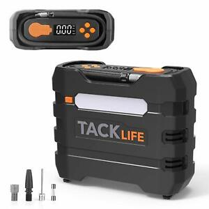 Tacklife Digital Tire Inflator Acp1b Air Compressor Pump 12v Tire Pump With Un