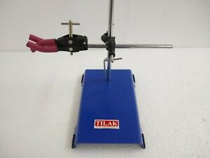 Retort Stand Boss Head With Three Finger Clamp With All Accessory Free Shipping