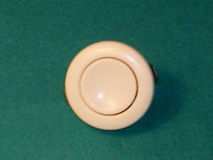 Vintage Ivory Start Button Switch Vw Beetle Kdf Bug Oval Split Porsche 356