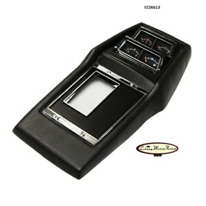 68 74 Nova Assembled Console Manual Transmission With Factory Gauges