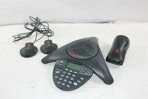 Polycom Soundstation2 Expandable W Display Conference Phone 2201 16200 601