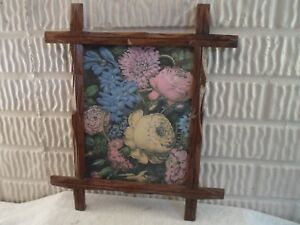 Criss Cross Adirondack Picture Frame Floral 7 5 X 9 7 Inches 1006