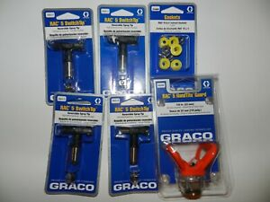 6pc New Genuine Graco Switch Tips housing And Gaskets 415 417 517 519