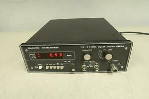 Marconi Instruments 6155a Rf Signal Source 1 0 2 0 Ghz T126764