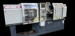Van Dorn 250 80 30 Ton Injection Molding Machine Ergotech compact 2 Available