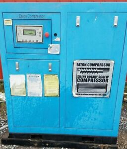 25 hp 3 Ph Rotary Screw Air Compressor used