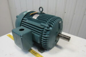 Baldor M4115t Electric Motor 50hp 1760rpm 3ph 230 460v 326t Broken Foot Mount