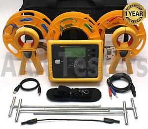 Fluke 1623 2 Kit Geo Earth Ground Resistance Tester Kit 1623 2