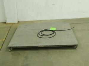 Mettler Toledo 2254 Commercial Warehouse Floor Scale 4x4 5000 Lbs T101938