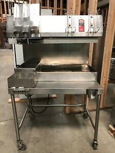 Used Restaurant Equipment ultra Glow Fry Warmer Center