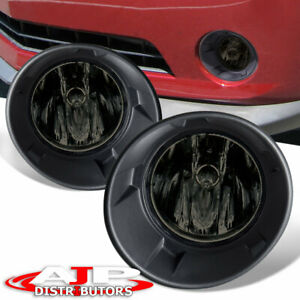 Smoke Driving Bumper Fog Lights Lamps Wiring Switch For 2010 2013 Chevy Camaro