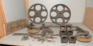 Industrial Age Towsley 1889 Factory Cart Rare Cast Iron Wheels Hardware Early