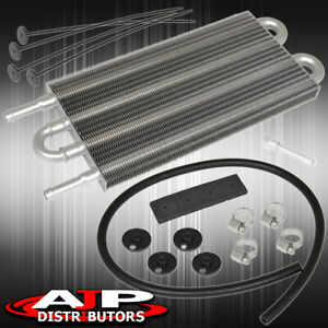 Universal Engine Oil Cooling Transmission Power Steering Engine Cooler 4 Rows