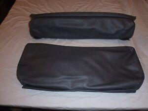 Willys Jeep Rear Seat Covers For Short Back Rear Seat Slate Gray Cj2a 1945 1949
