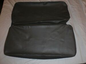 Willys Jeep Rear Seat Covers Dark Grey With 2 3 4 Back 5 Thick Bottom Cus